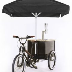 The Hot Trend of Owning a Coffee Tricycle